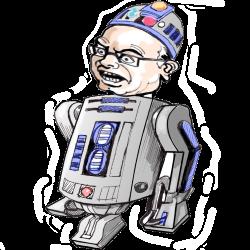R2D2, le robot de BOZO