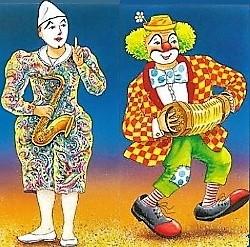 auguste clown blanc250